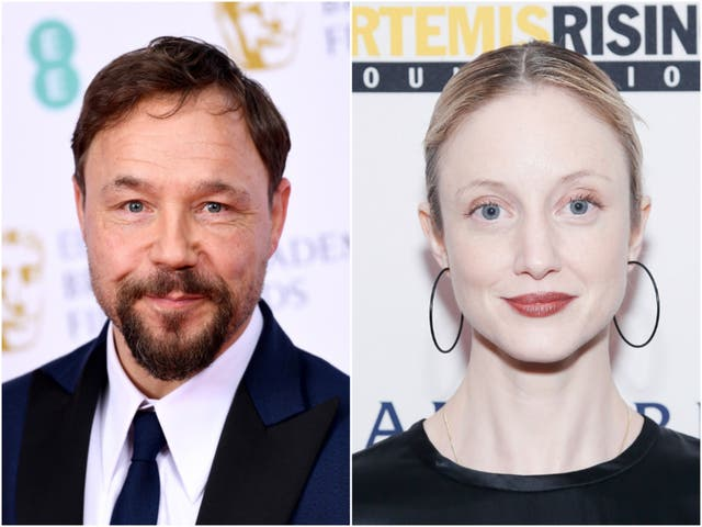 Stephen Graham and Andrea Riseborough will star in the film