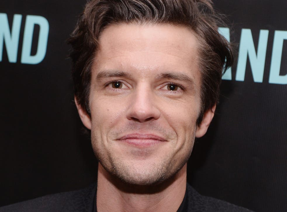 <p>Brandon Flowers, the lead singer of The Killers</p>