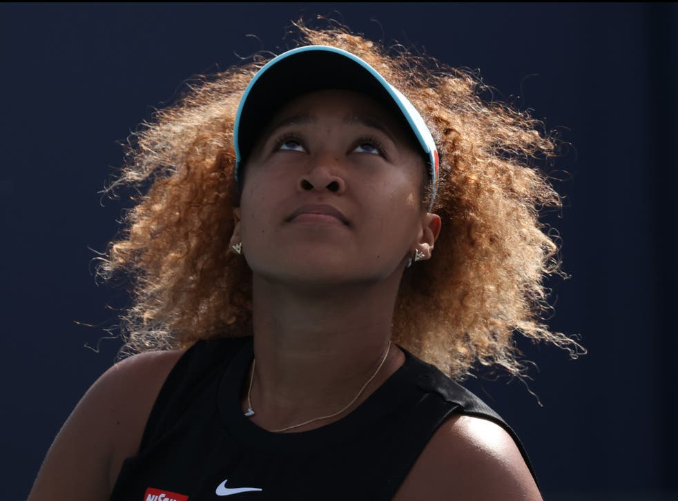 Reigning US Open and Australian Open champion Naomi Osaka