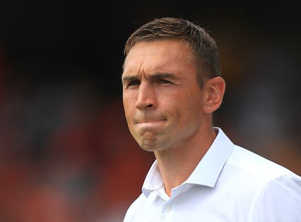 Kevin Sinfield has his sights set on a mass participation walk to raise further funds for the MND Association