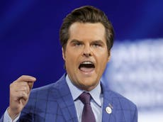 "Matt Gaetz: Fox News ""no tiene interés"" en contratar a un congresista republicano"