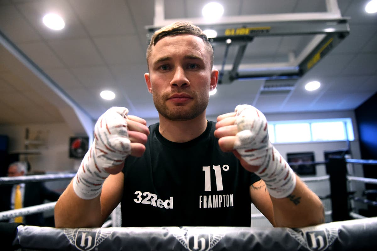 Carl Frampton vs Jamel Herring ring walk time in UK