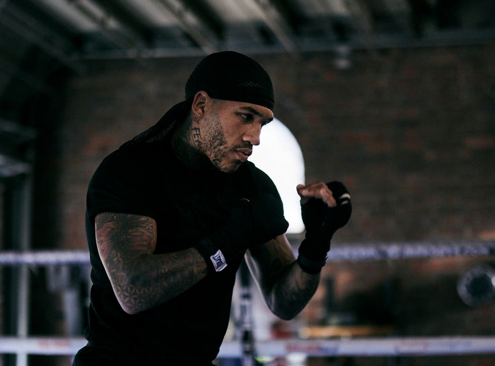 Conor Benn in training ahead of his bout with Samuel Vargas