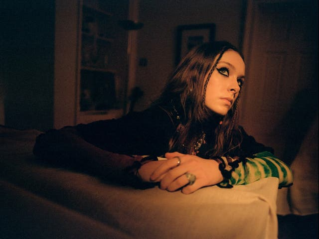<p>Holly Humberstone: 'I realised that we can be even more creative with the people and things around us'</p>