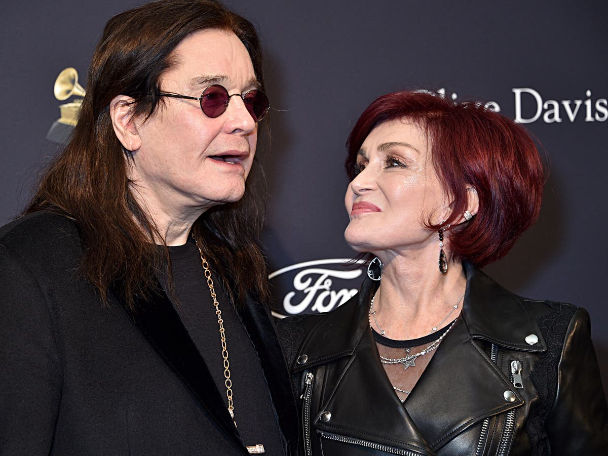 Ozzy Osbourne Voices Support For Wife Sharon Osbourne After Exit From The Talk The Independent