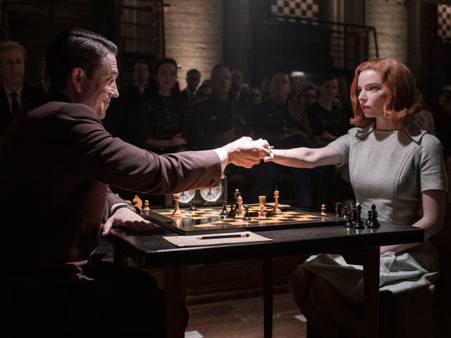 <p>In 'The Queen's Gambit' the men were far too nice to Harmon, according to Polgar</p>