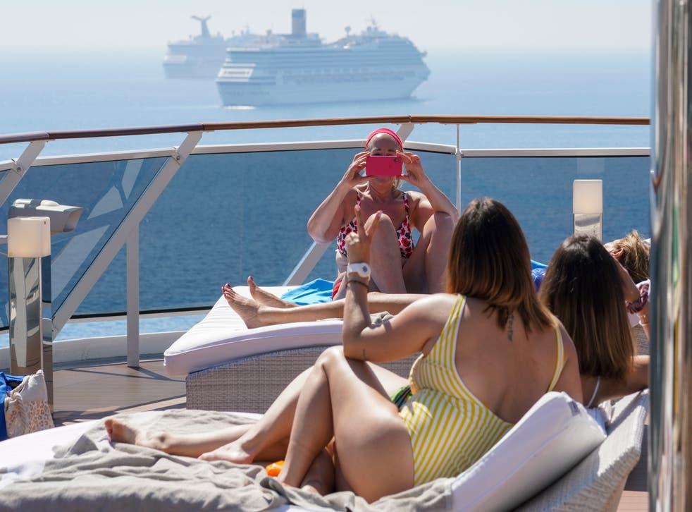 Virus Outbreak Italy Cruise Ships