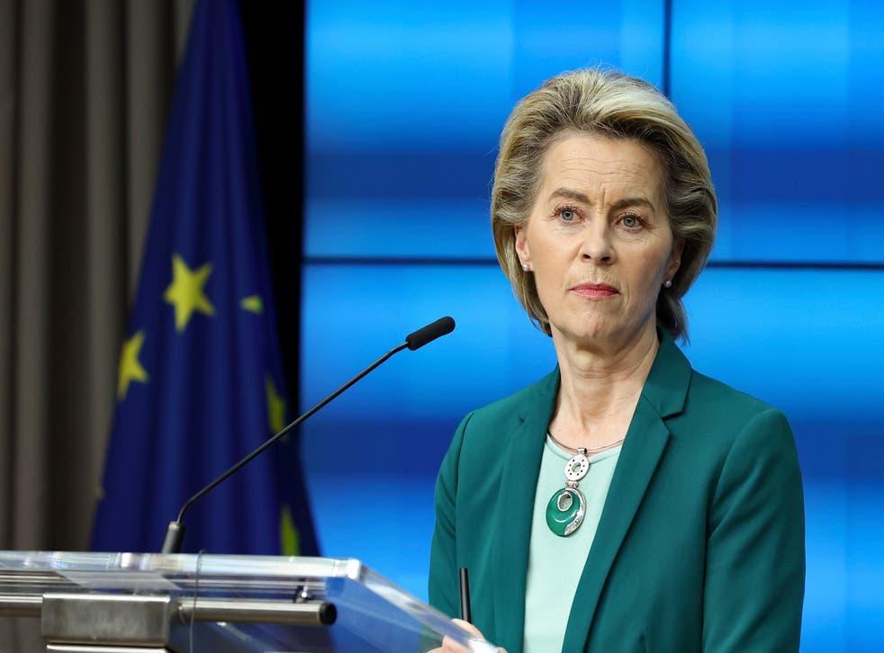 Virus Outbreak Belgium EU Summit