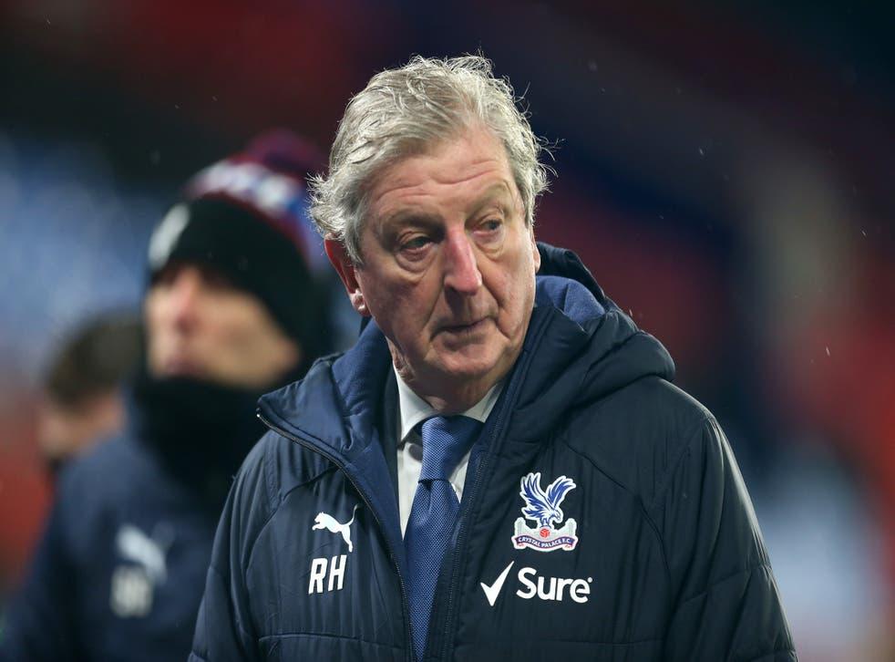 <p>Crystal Palace manager Roy Hodgson</p>