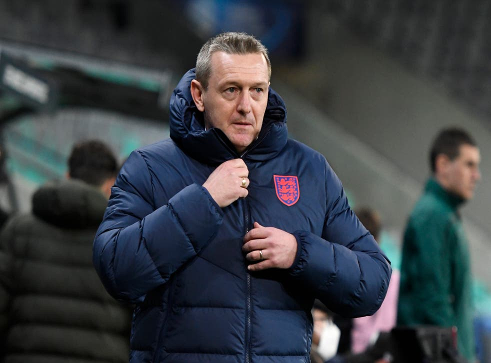 <p>England Under-21s manager Aidy Boothroyd</p>
