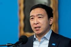 Aspirante a alcalde de Nueva York, Andrew Yang, hospitalizado por aparente cálculo renal