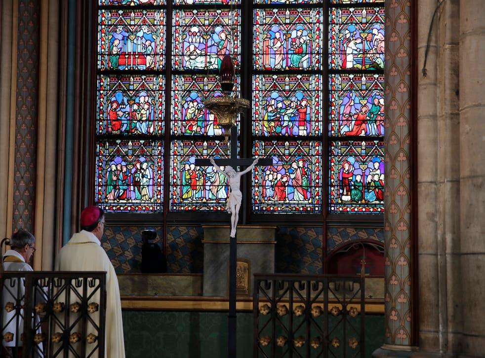 France Notre Dame Easter