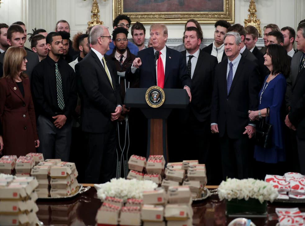 <p>Donald Trump is a huge McDonald's fan</p>