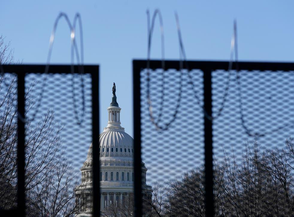 Tramas extremistas de violación del Capitolio
