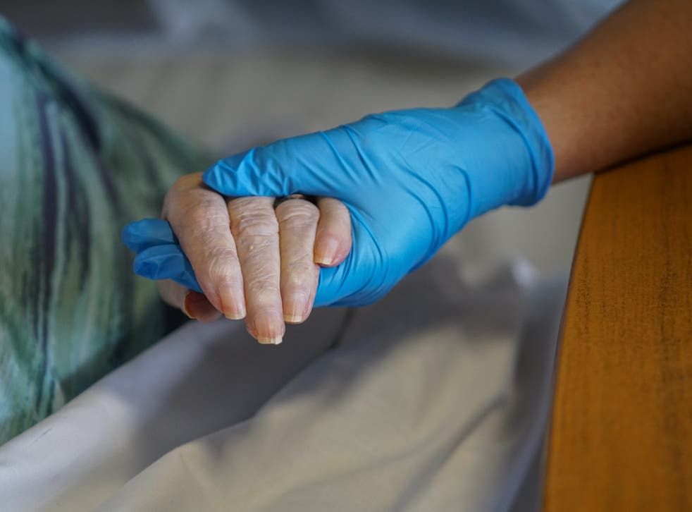 <p>The discharging of elderly hospital patients into care homes without testing for Covid was 'one of the biggest tragedies last year'</p>