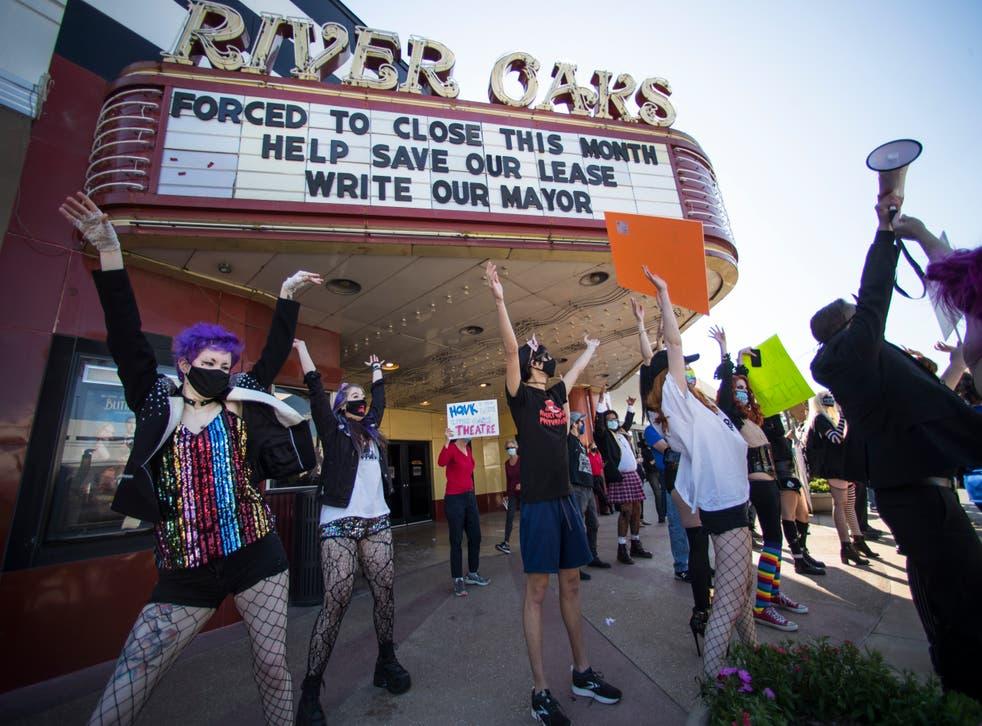 Virus Outbreak Shuttered Houston Theater