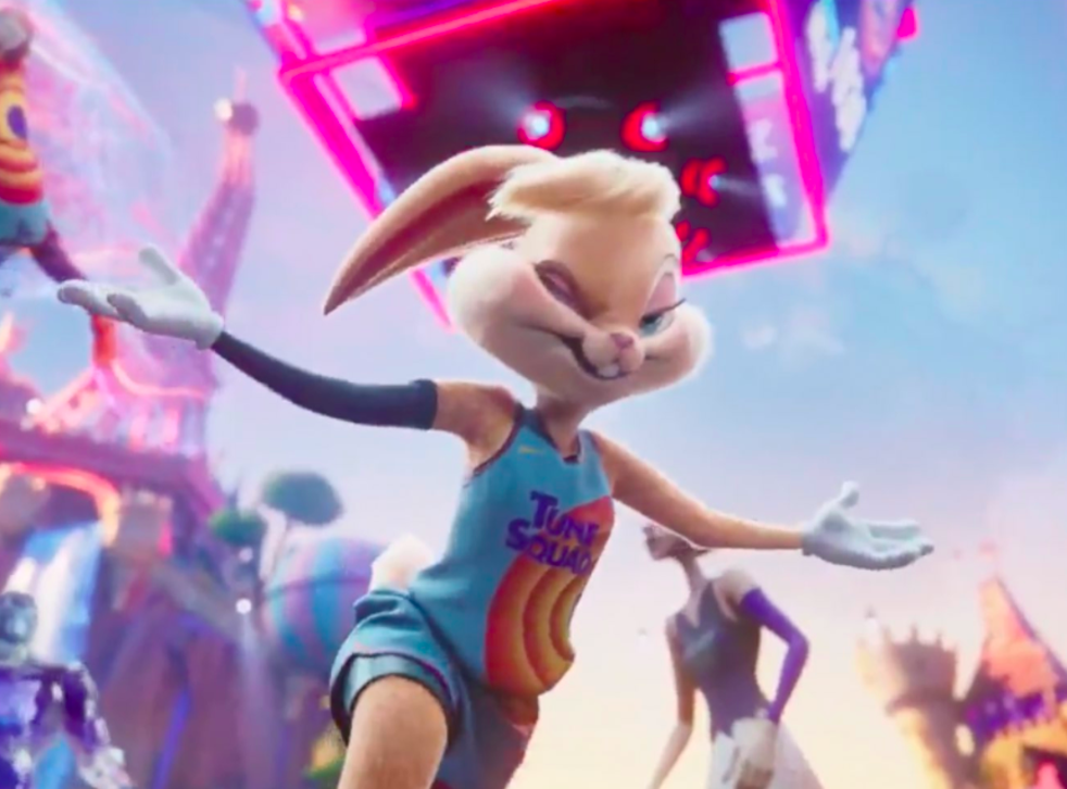 <p>Lola Rabbit takes NBA star Dwayne Wade's place in 'Space Jam: A New Legacy'</p>