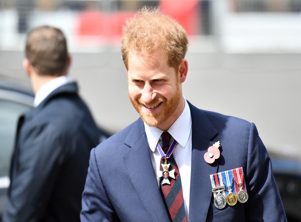 <p>File Image: Britain's Prince Harry, Duke of Sussex</p>
