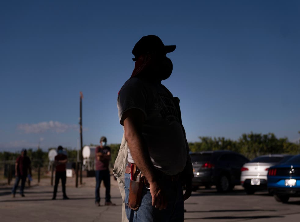 Virus Outbreak California Farmworkers