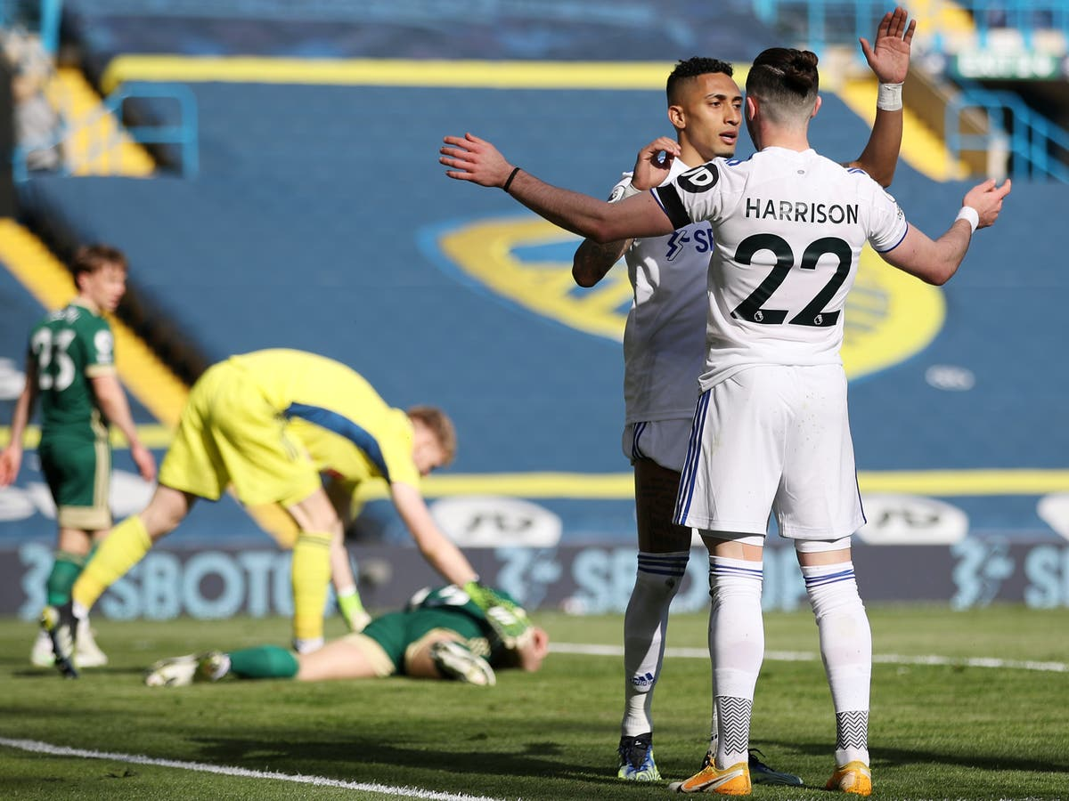Phil Jagielka own goal gives Leeds victory and deepens Sheffield United misery