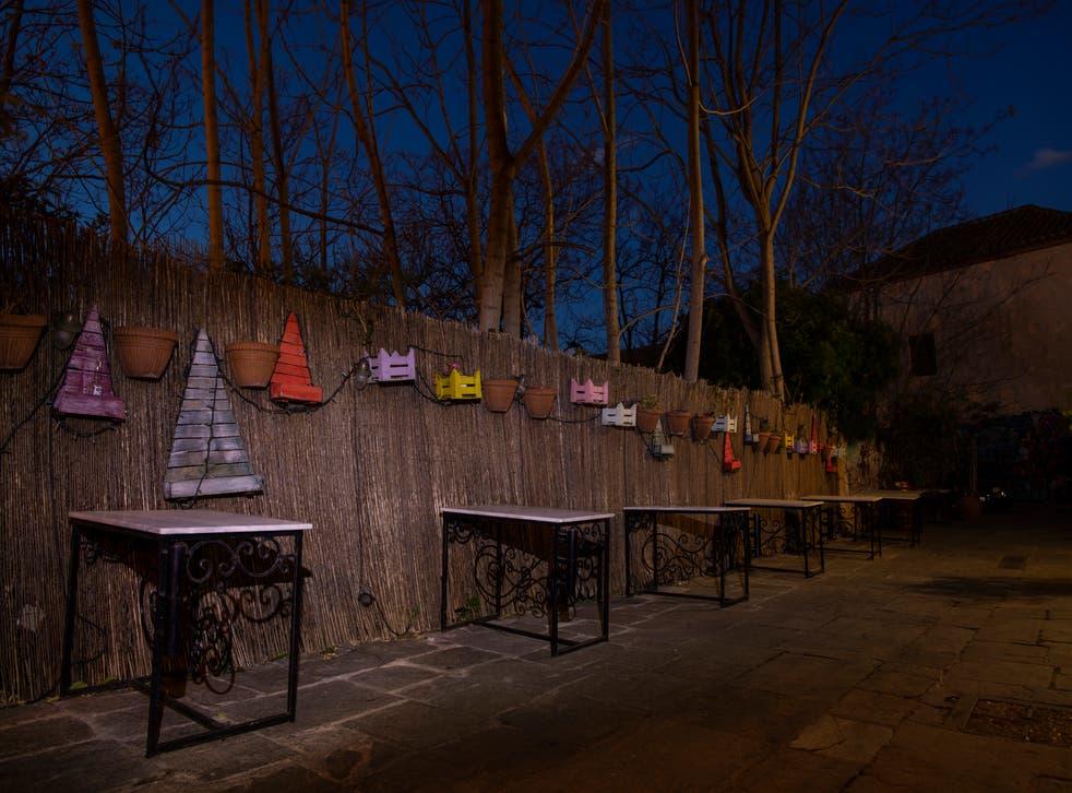 Greece Shuttered Restaurants Photo Gallery