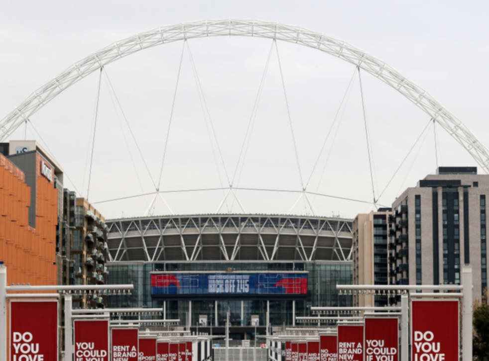 <p>Fans will return to Wembley this month</p>