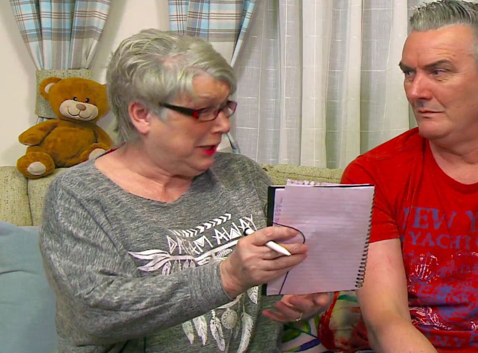 <p>'Gogglebox' star Jenny Newby is keeping a 'Line of Duty' notebook</p>