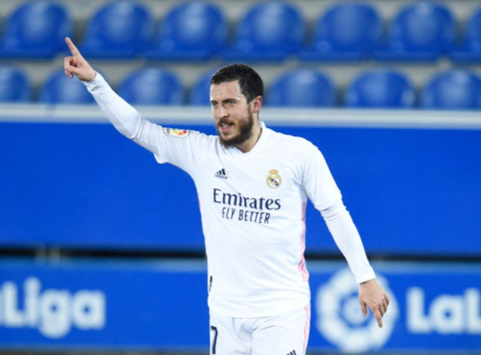 <p>Hazard could be set to feature for Real Madrid on Tuesday</p>