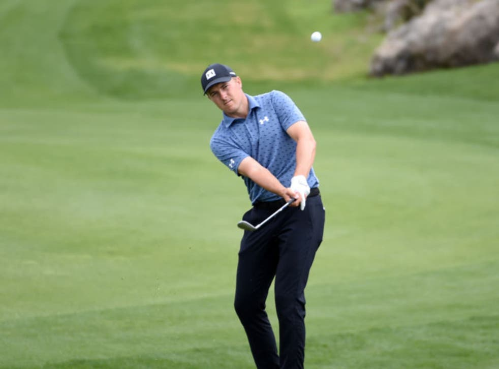 <p>Spieth won the Valero Texas Open by two shots</p>