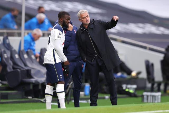 <p>Mourinho still wants Ndombele to improve despite a good run of form</p>