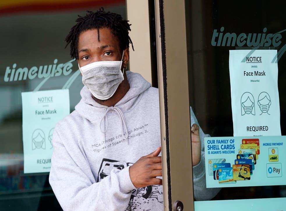 Virus Outbreak Small Businesses Masks