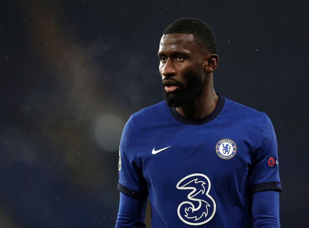 Antonio Rudiger was involved in a training ground row with Kepa Arrizabalaga after the loss to West Brom