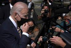 Biden defiende el aumento del impuesto sobre sociedades mientras Manchin amenaza con bloquearlo