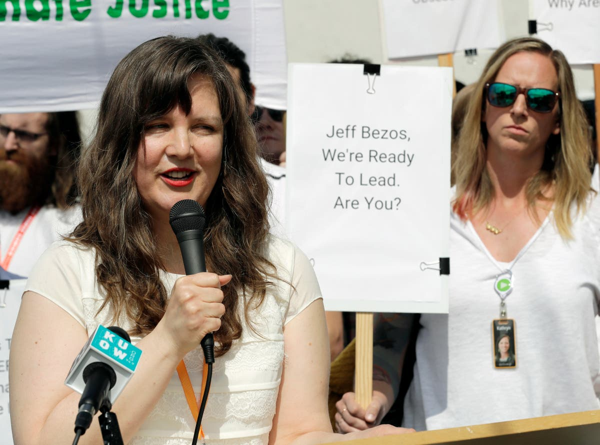 Amazon broke the law by firing workers who called for better Covid saf... image