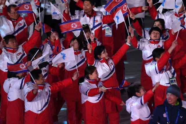 """<p>La decisión fue tomada por el Comité Olímpico Nacional de Corea del Norte en una reunión el 25 de marzo para proteger a los atletas de la """"crisis de salud pública mundial causada por COVID-19"""", dijo un comunicado</p>"""