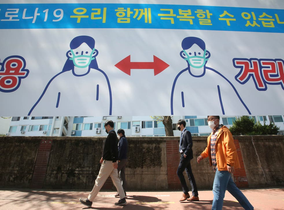 Virus Outbreak South Korea Daliy Life