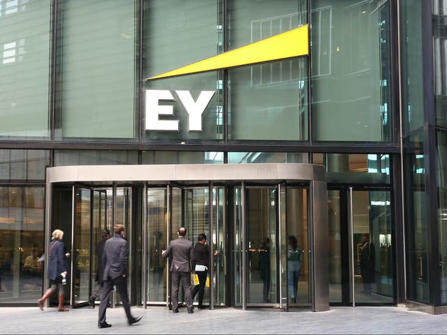 London office of EY, formally known as Ernst & Young