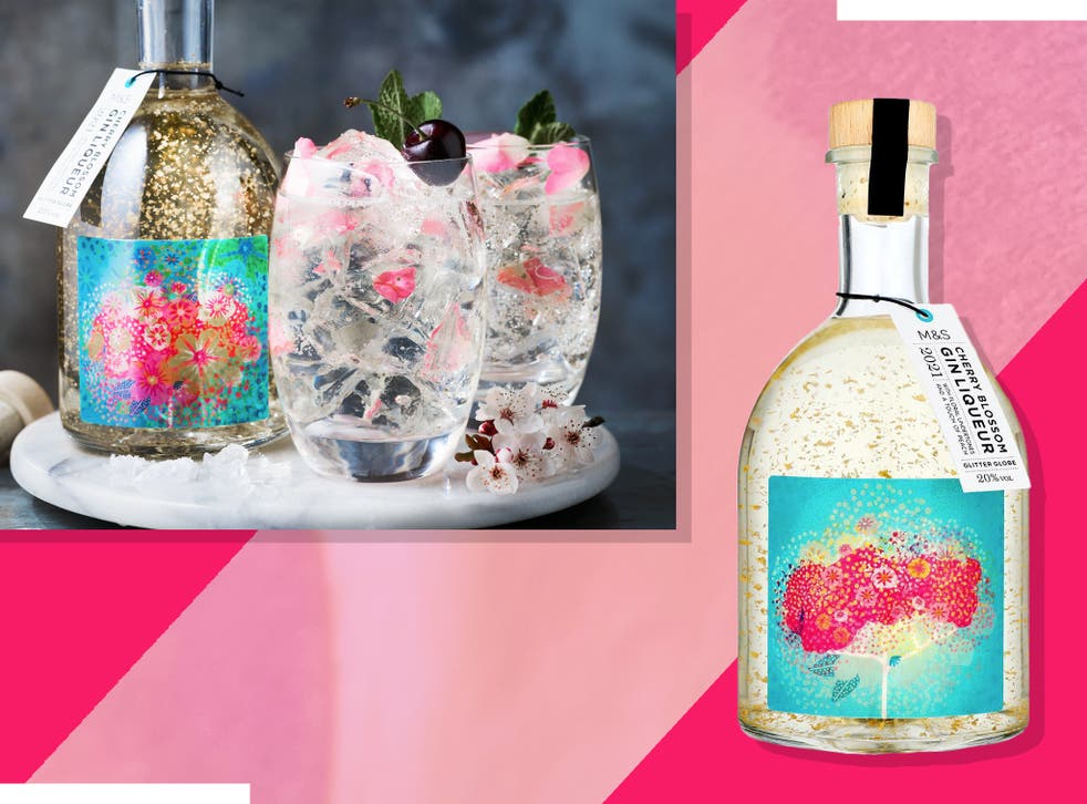 <p>The drink, which contains edible gold leaf, is inspired by cherry blossom trees</p>