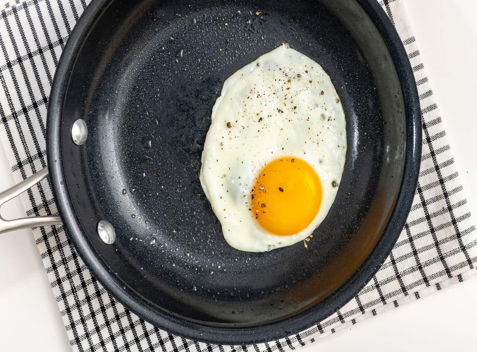<p>The gentle, indirect heat your oven provides cooks the white all the way through while keeping it tender and leaving the yolk golden</p>