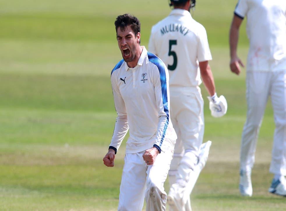 <p>Fast bowler Duanne Olivier</p>