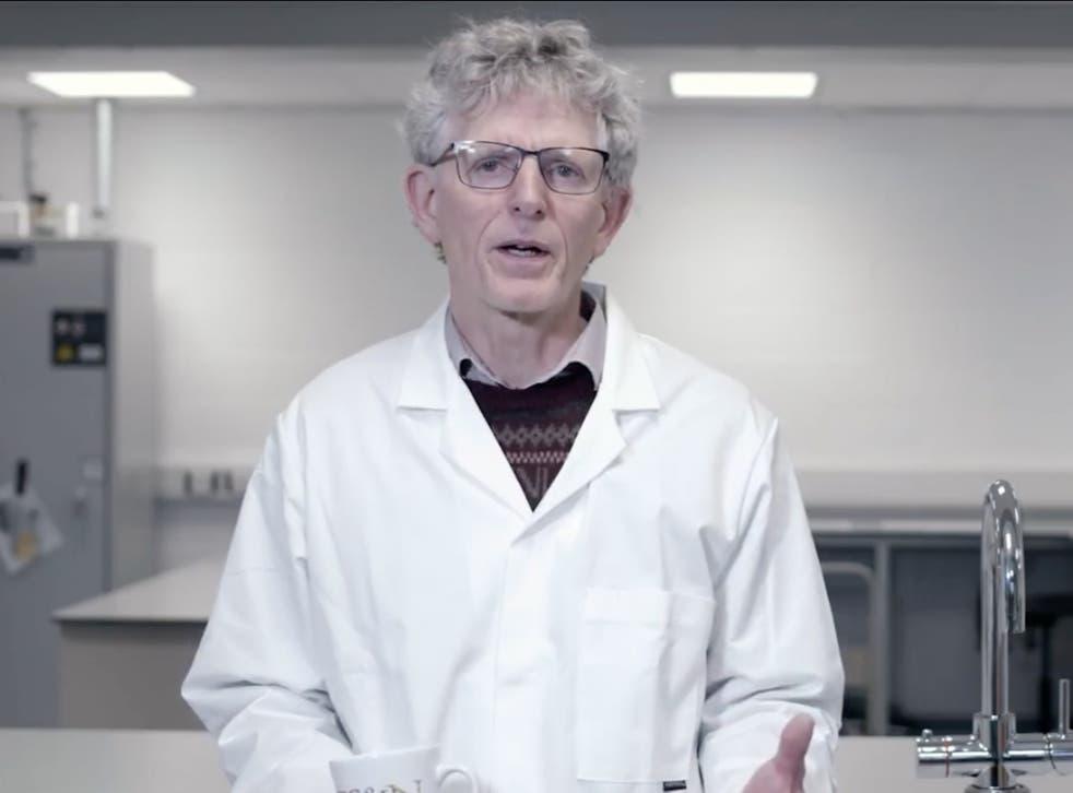 Professor Alan Mackie of Leeds University