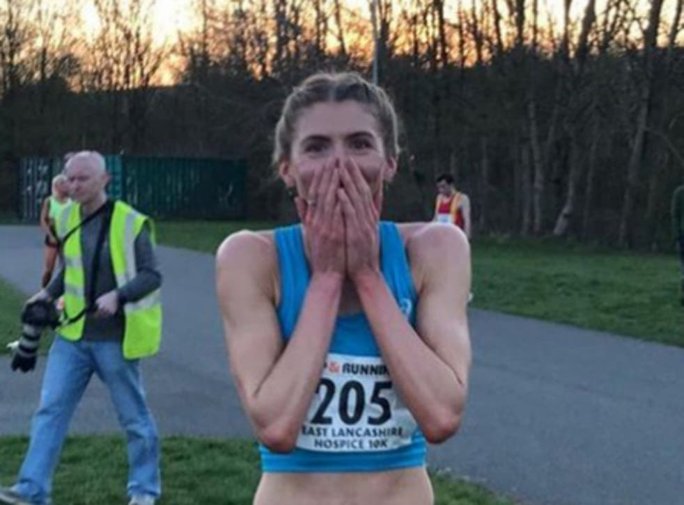 Beth Potter ran 14:41 at the Podium 5K last weekend