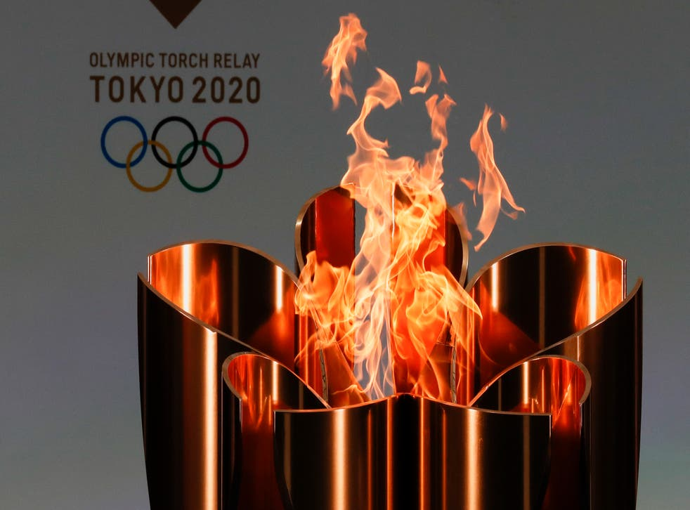 Olympics Tokyo Torch Problems