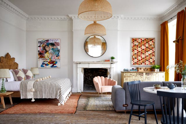 <p>The quirky Artist Residence in Bristol's Portland Square</p>