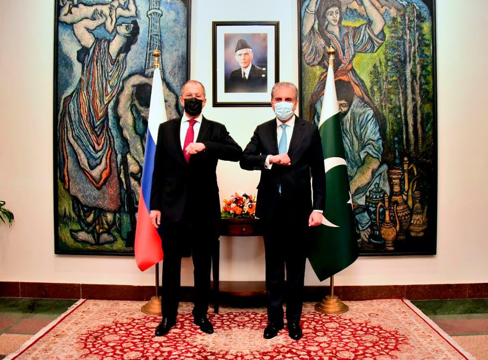 Pakistan Russia