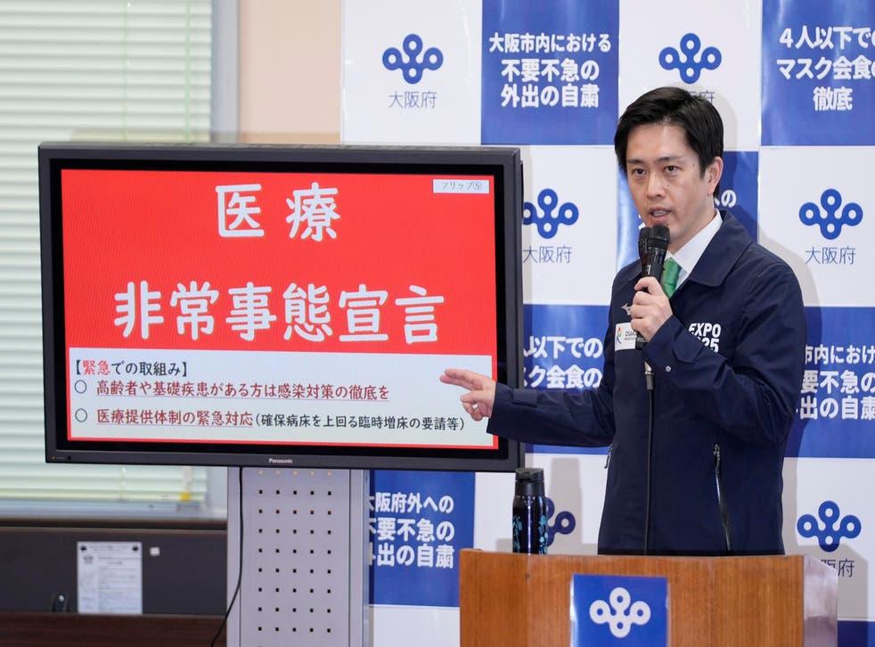 Virus Outbreak Japan Osaka