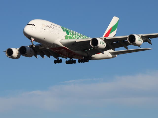 World beater: Airbus A380 belonging to Emirates
