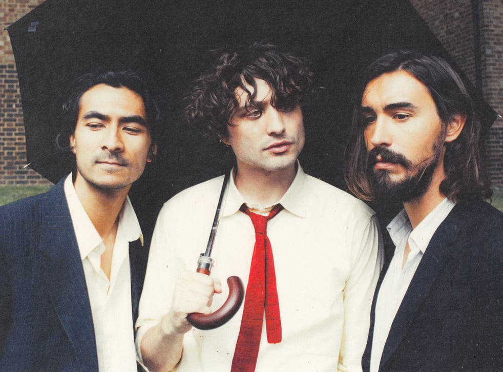 <p>Flyte's Will Taylor (centre) – 'I was at pains not to be that person pointing the finger'</p>