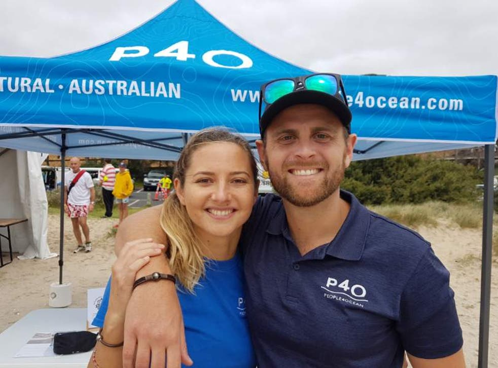 <p>P4O founders Louise and Austin Lang met in oceanography class</p>
