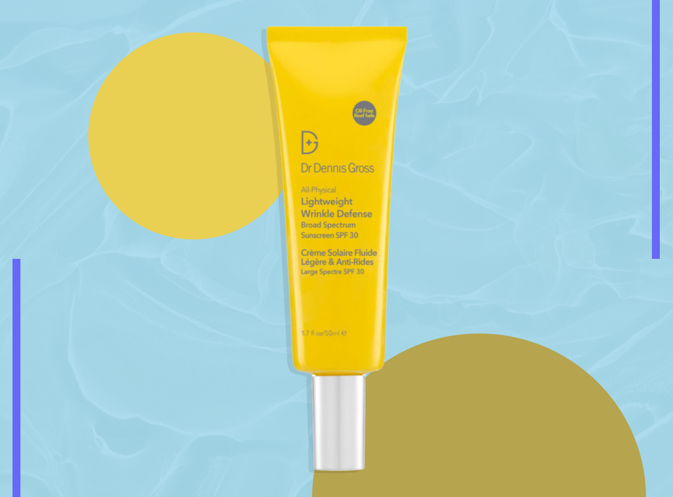 <p>According to Gross himself: 'If you don't love your sunscreen, you won't use it'</p>